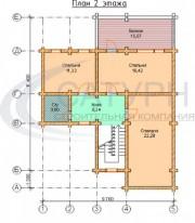 Проект Верона - План 2 этажа